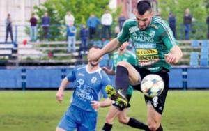 Antonio Načinović prvi je zatresao mrežu na današnjoj utakmici