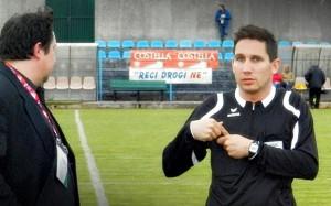 Delegat Fonović i sudac Sandro Veggian